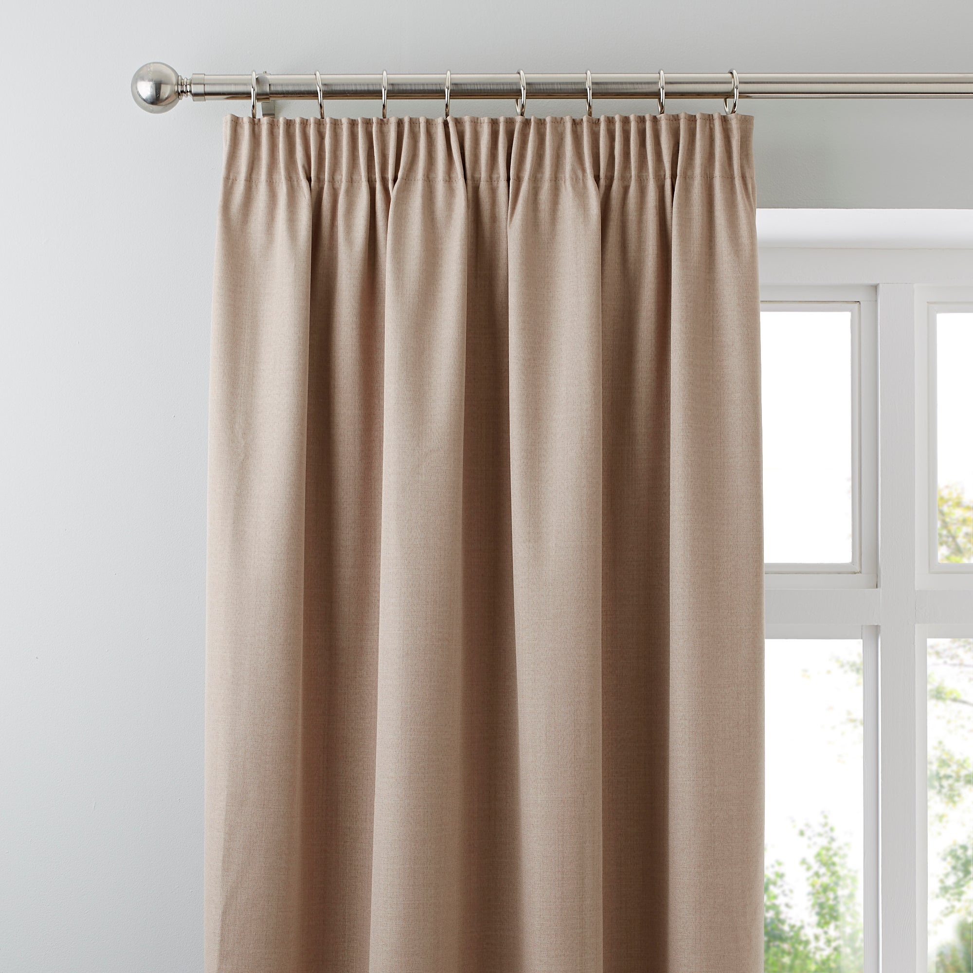 Waters and Noble Biscuit Solar Blackout Curtains
