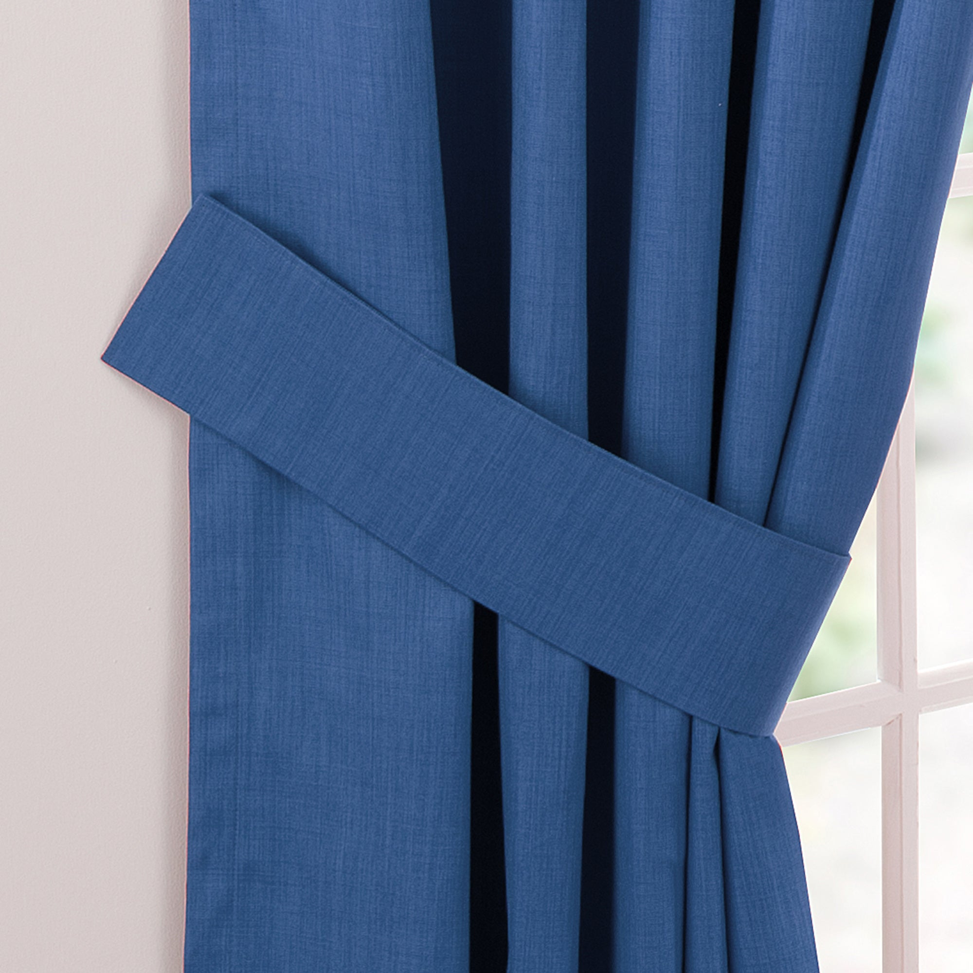 Waters and Noble Blue Solar Blackout Curtain Collection