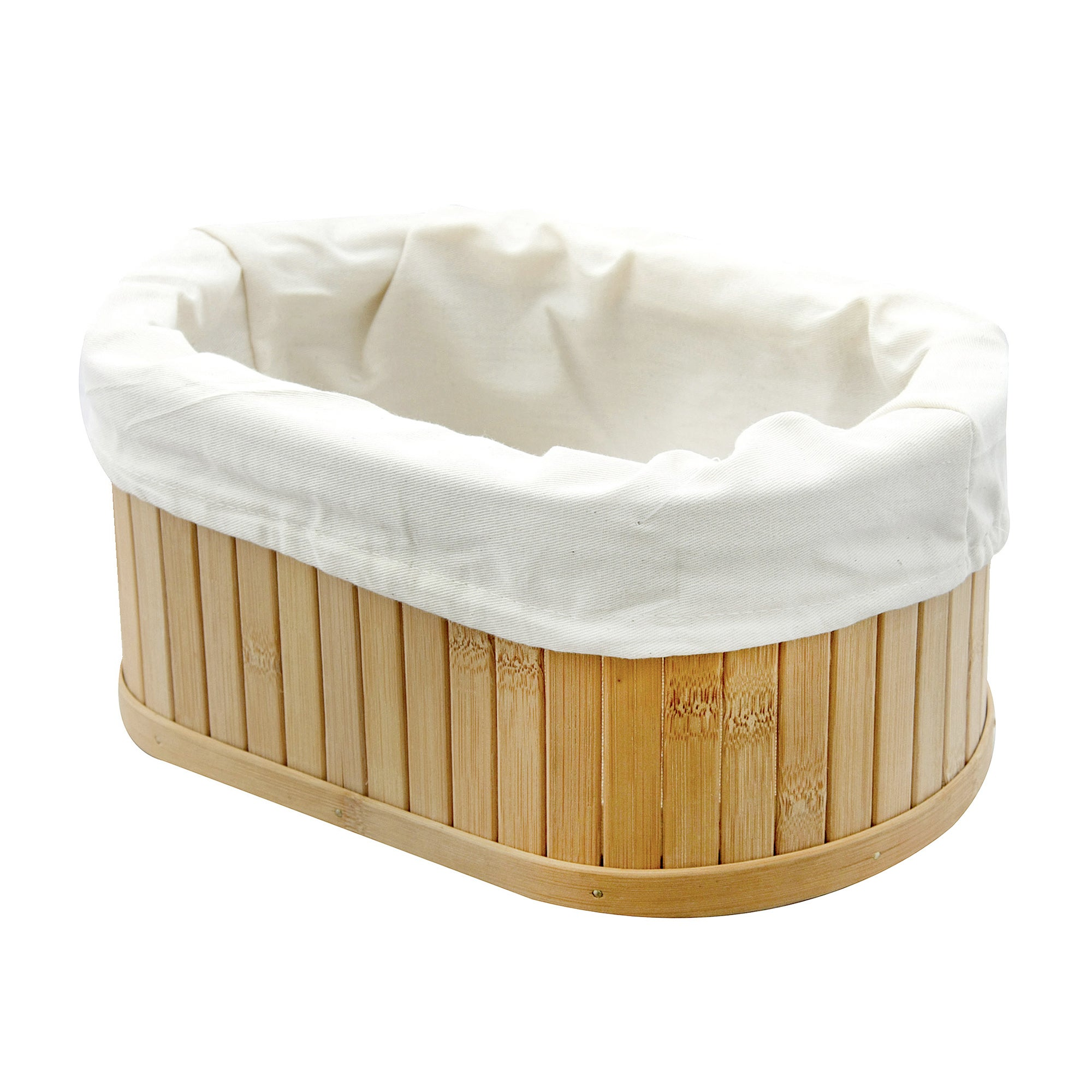 Woodford Oval Bamboo Storage Basket
