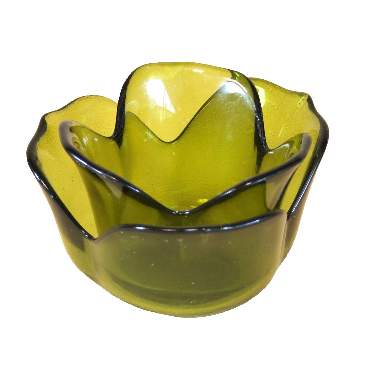 Key Lime Collection Rose Tea Light Holder