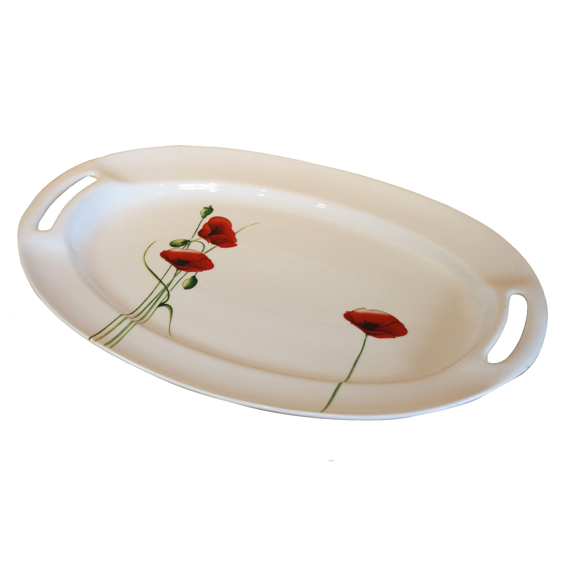 Poppy Collection Oval Platter
