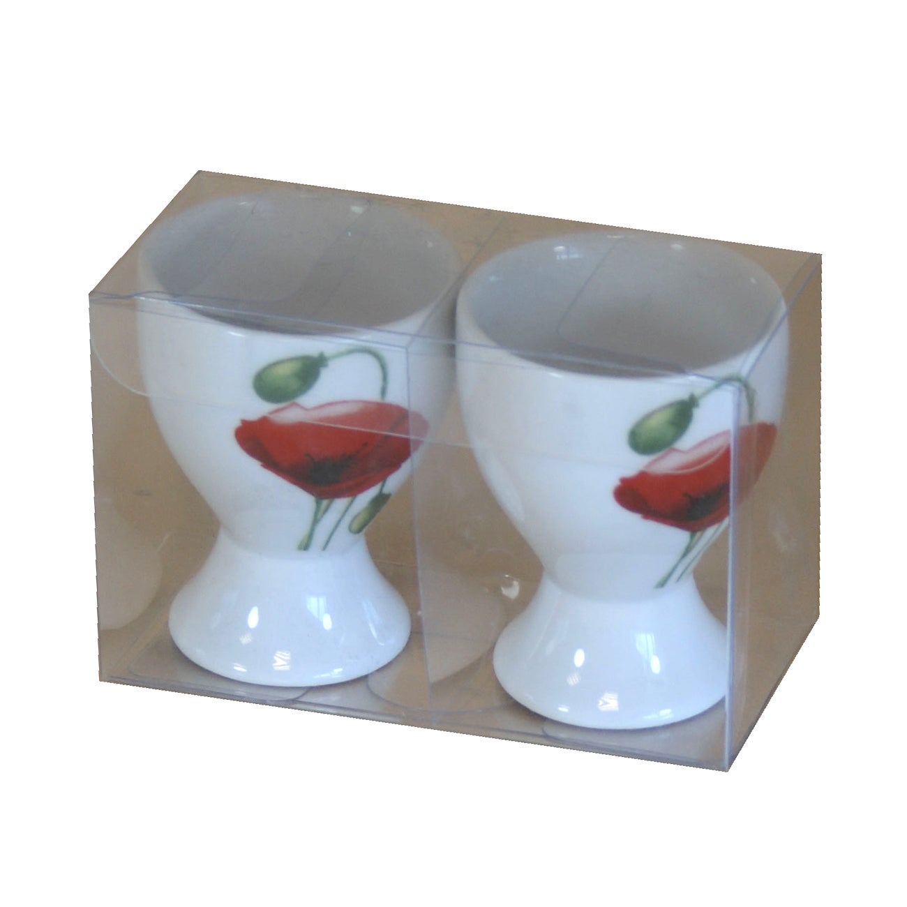 Poppy Collection Set of 2 Egg Cups