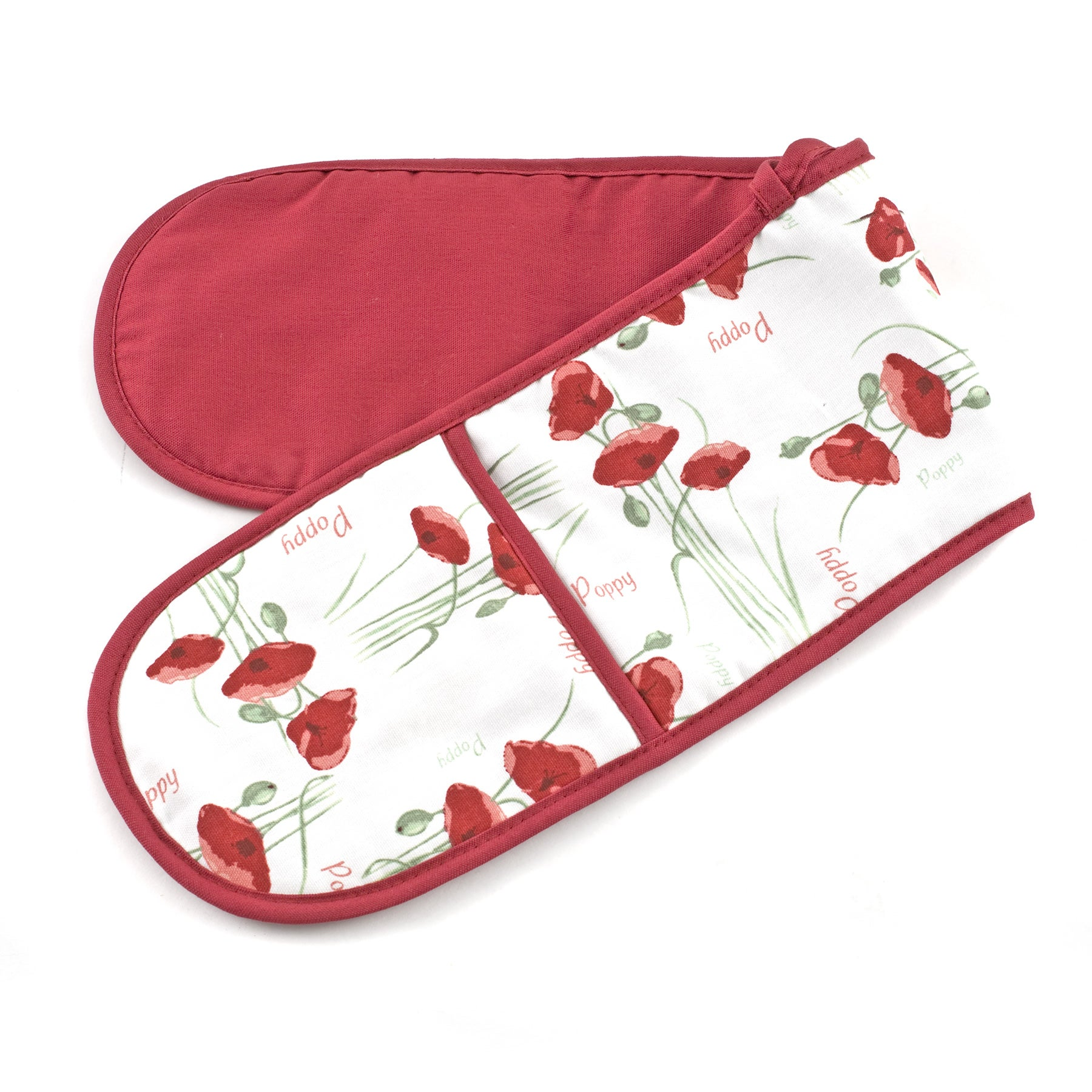 Poppy Collection Double Oven Glove