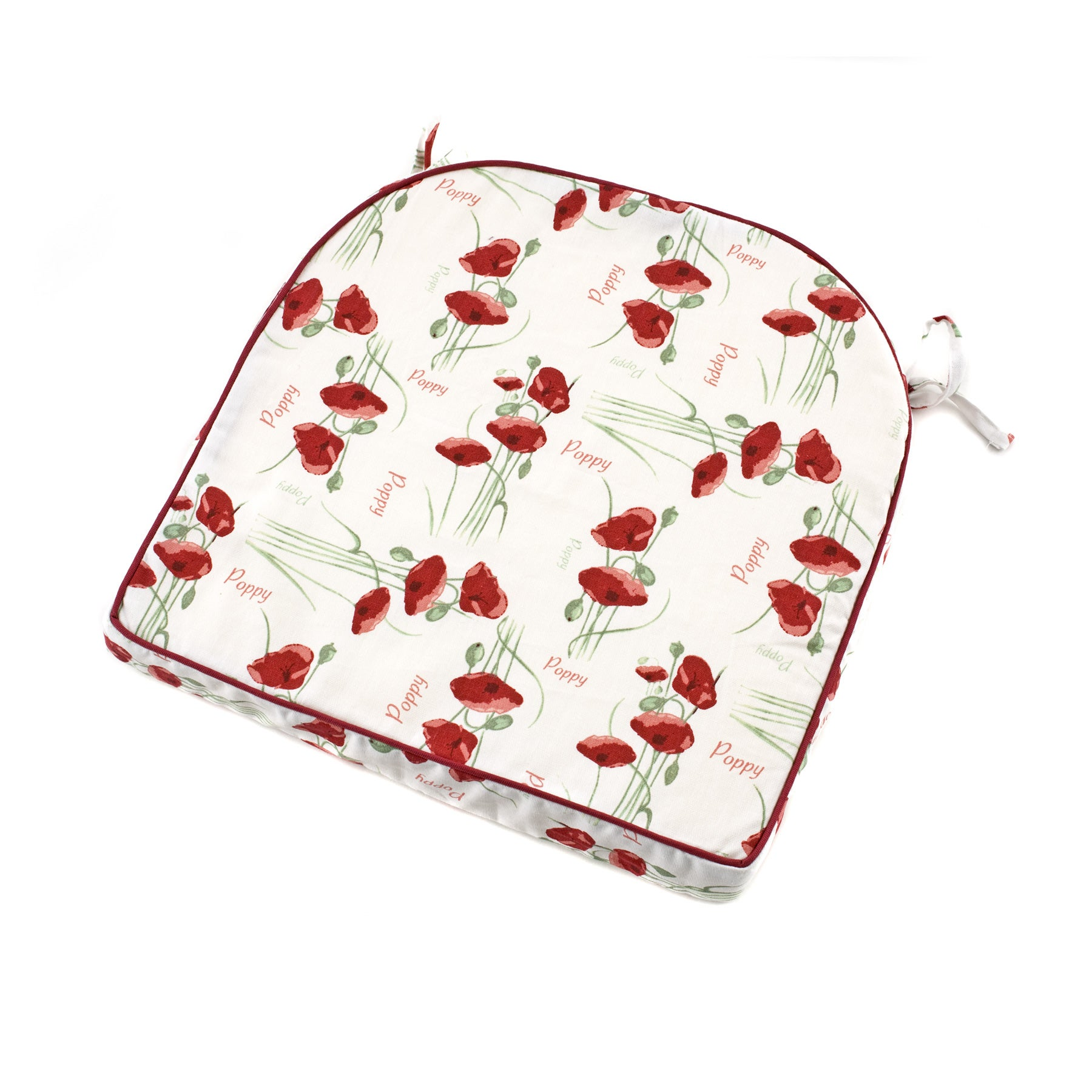 Red Poppy Collection Seat Pad