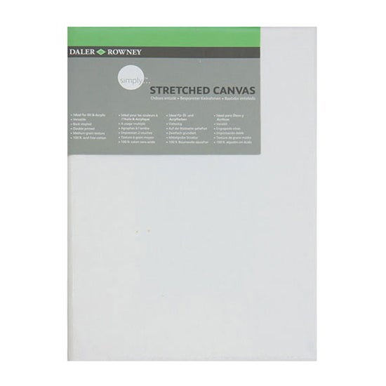 Daler Rowney Simply Stretched Rectangular Canvas