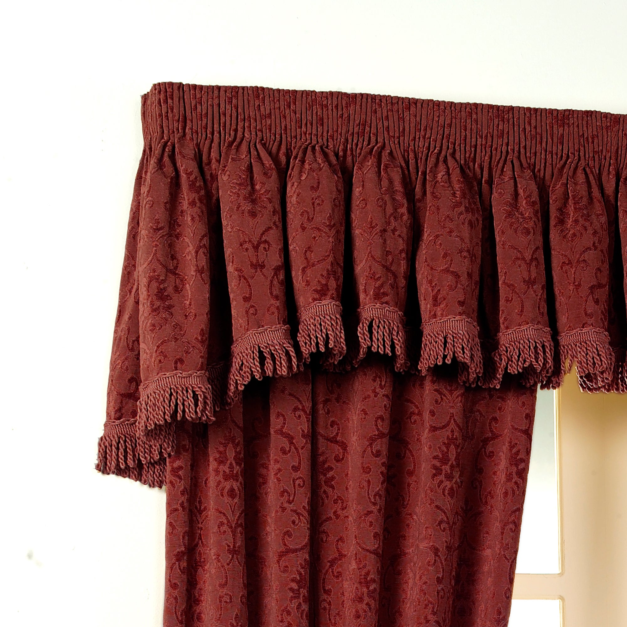 Ruby Vivaldi Collection Valance Pelmet