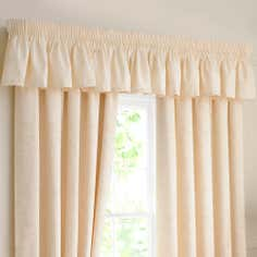 Natural Sandringham Collection Valance Pelmet