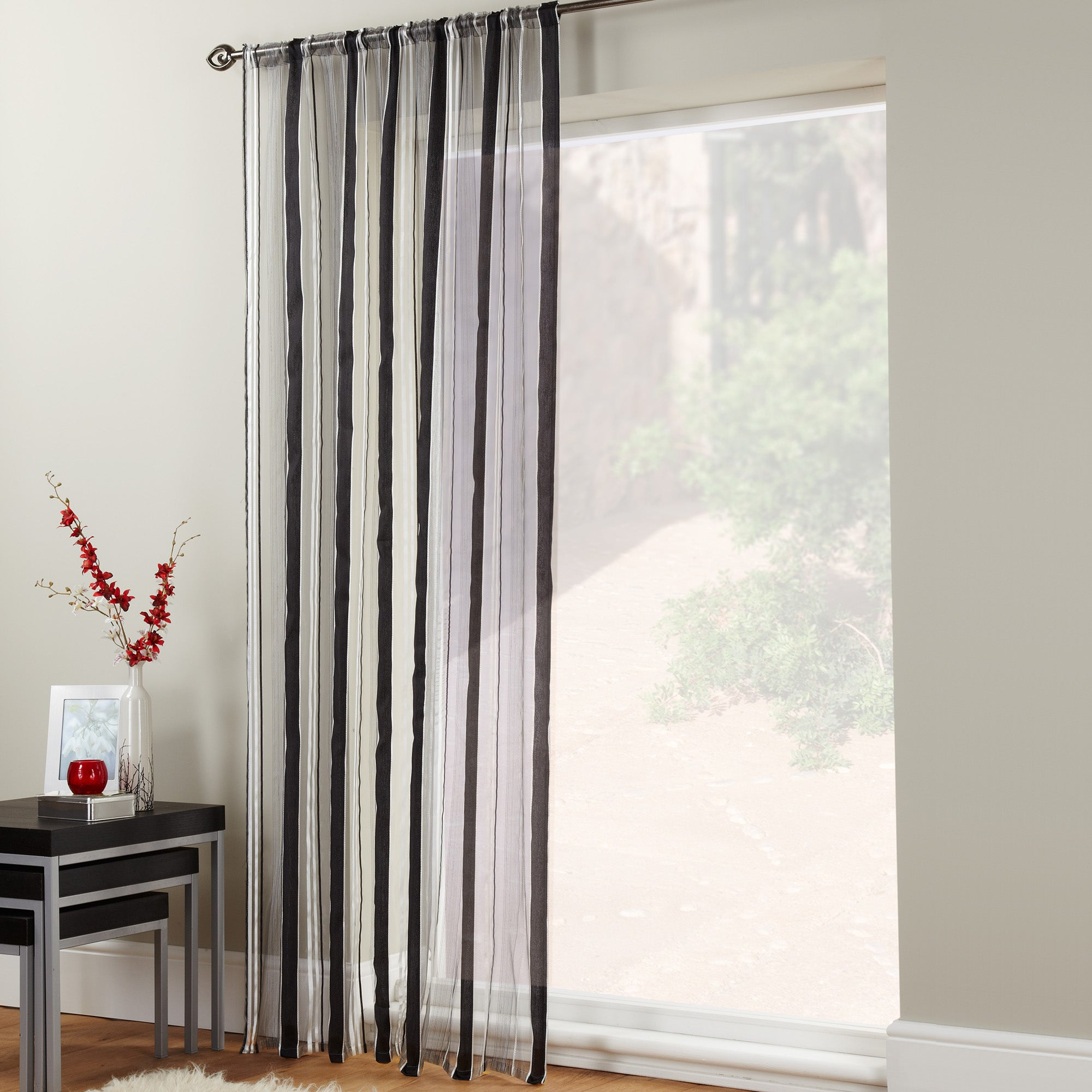 Black Trax Voile Panel