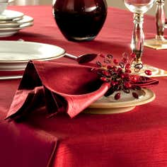 Faux Silk Collection Pack of Four Napkins