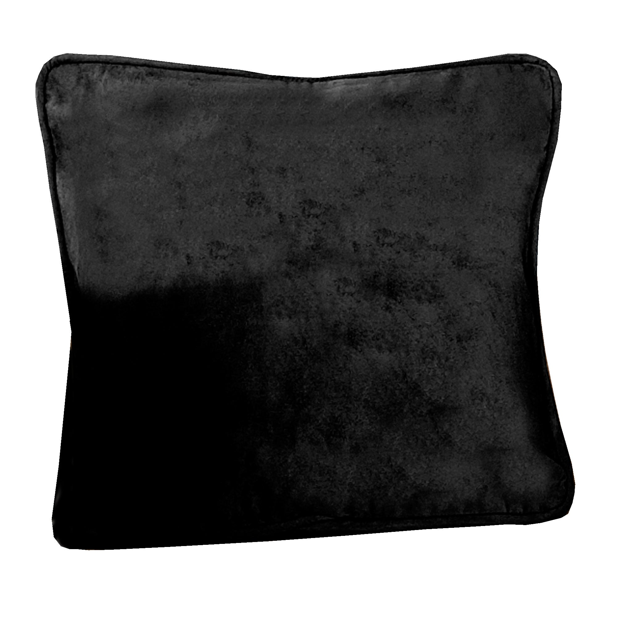 Black Suede Blackout Cushion