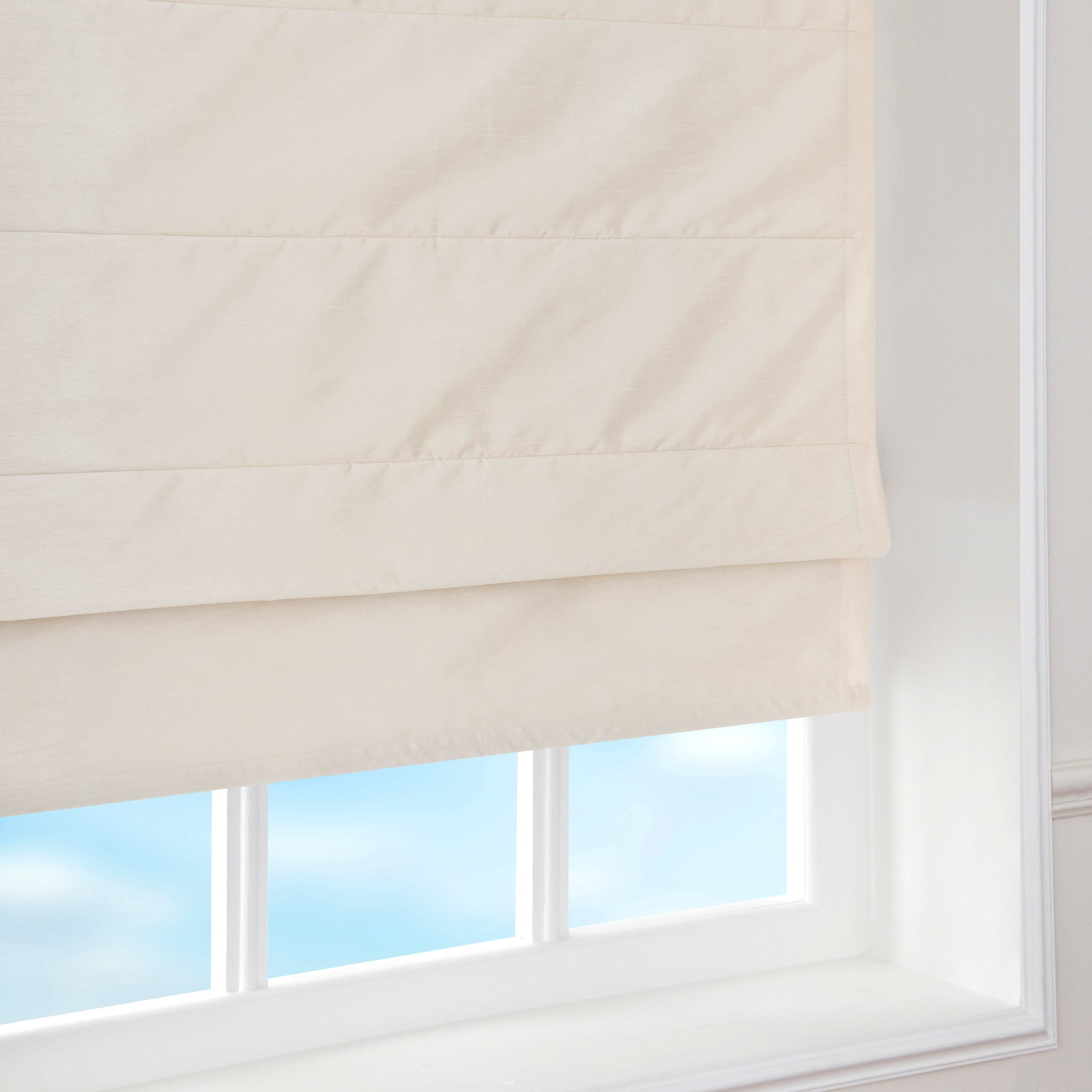 Blackout Faux Silk Roman Blind