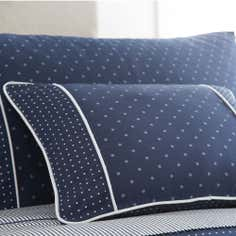 Dorma Blue Capri Collection Boudoir Cushion Cover