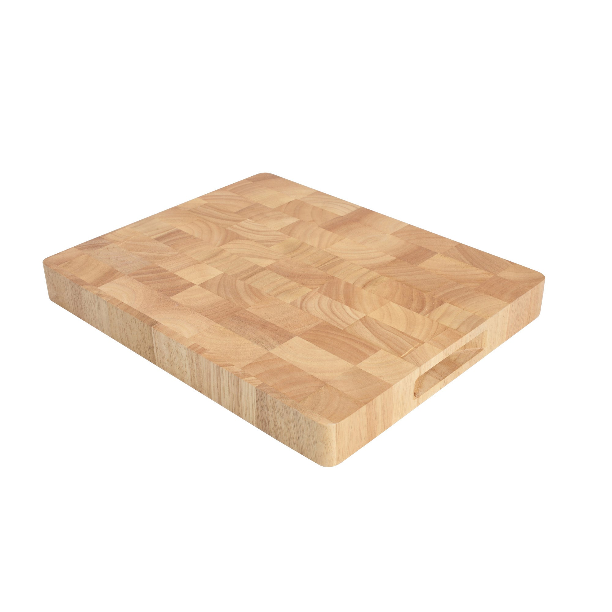 T & G Hevea Large End Grain Chopping Board
