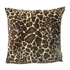 Giraffe Fur Cushion Cover