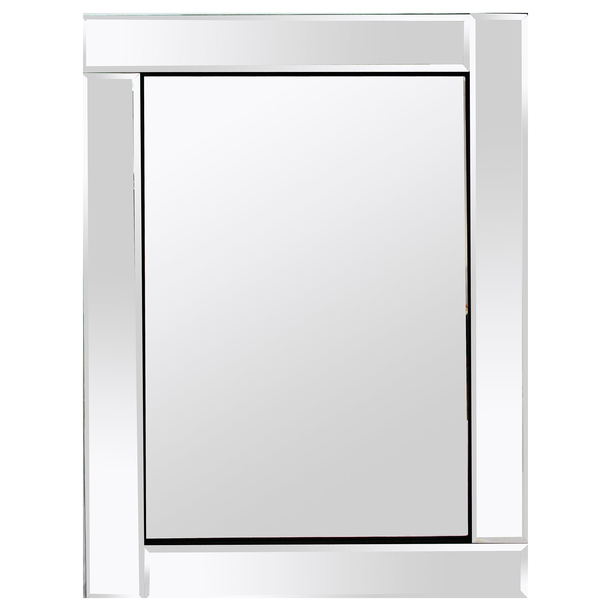 Bevelled Block Frame Mirror