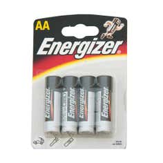 Energizer Alkaline Classic AA Pack of 4 Batteries