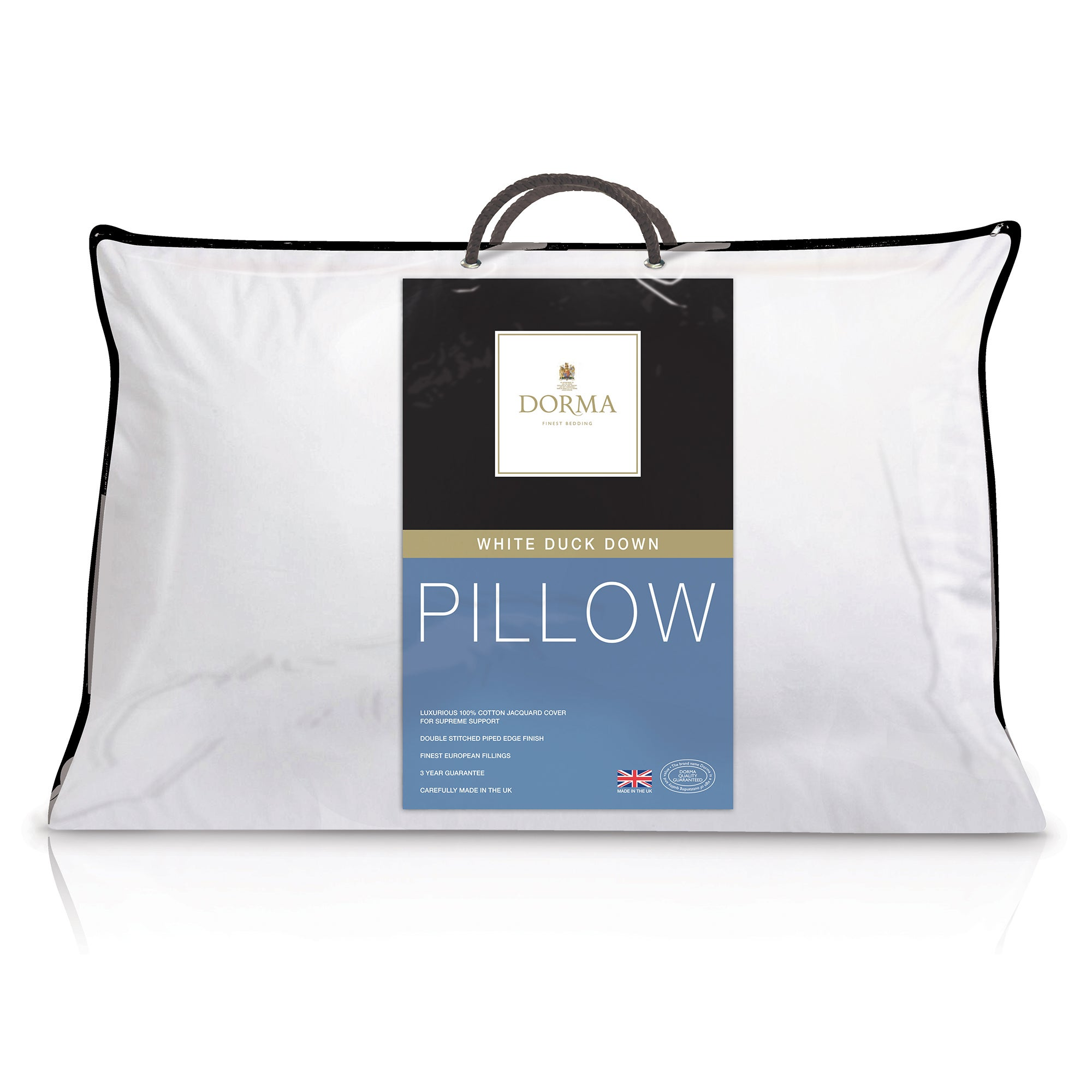 Dorma White Duck Down Pillow