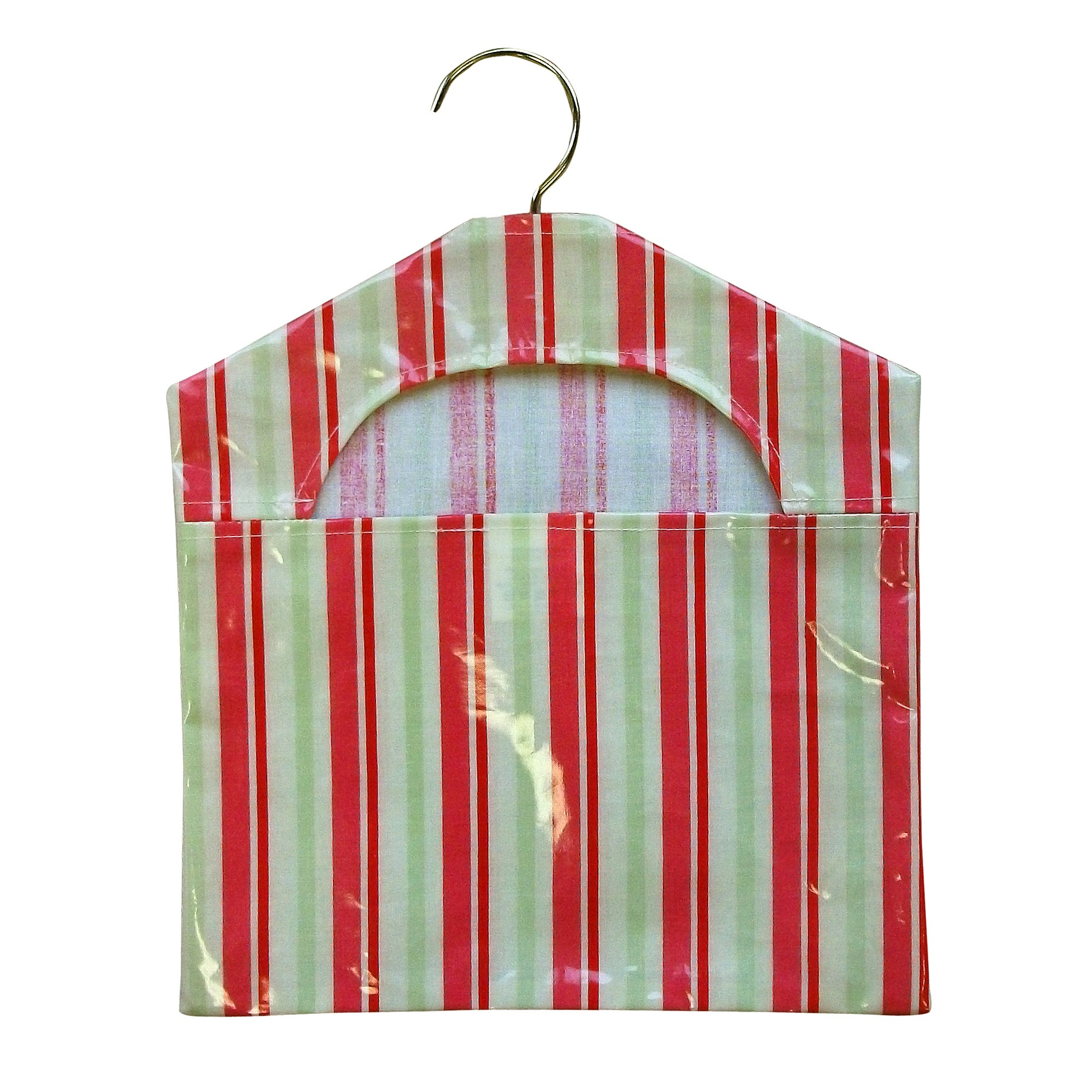 Stripe PVC Peg Bag