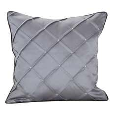 Silver Parisian Cushion Cover