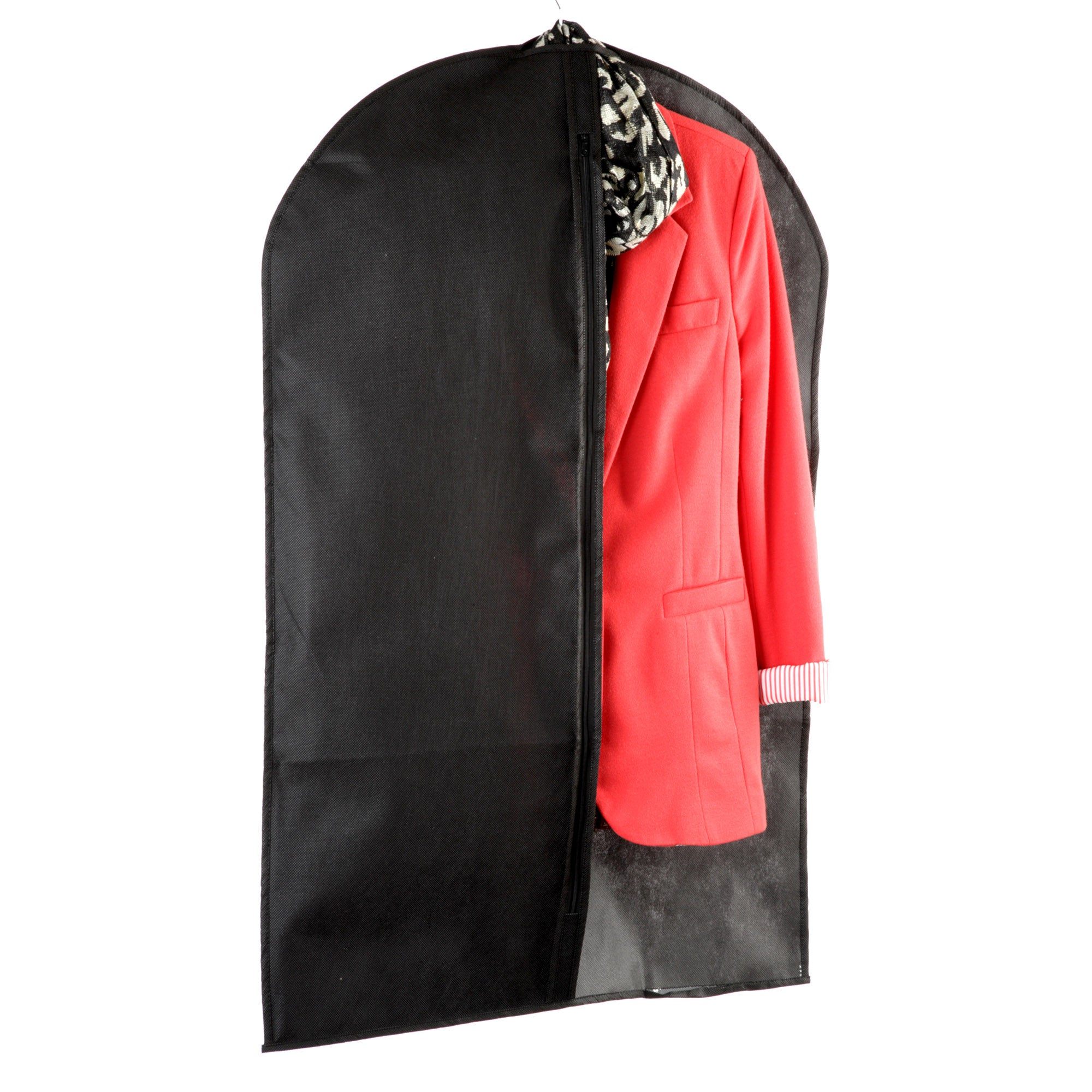 Black Non Woven Collection Suit Cover