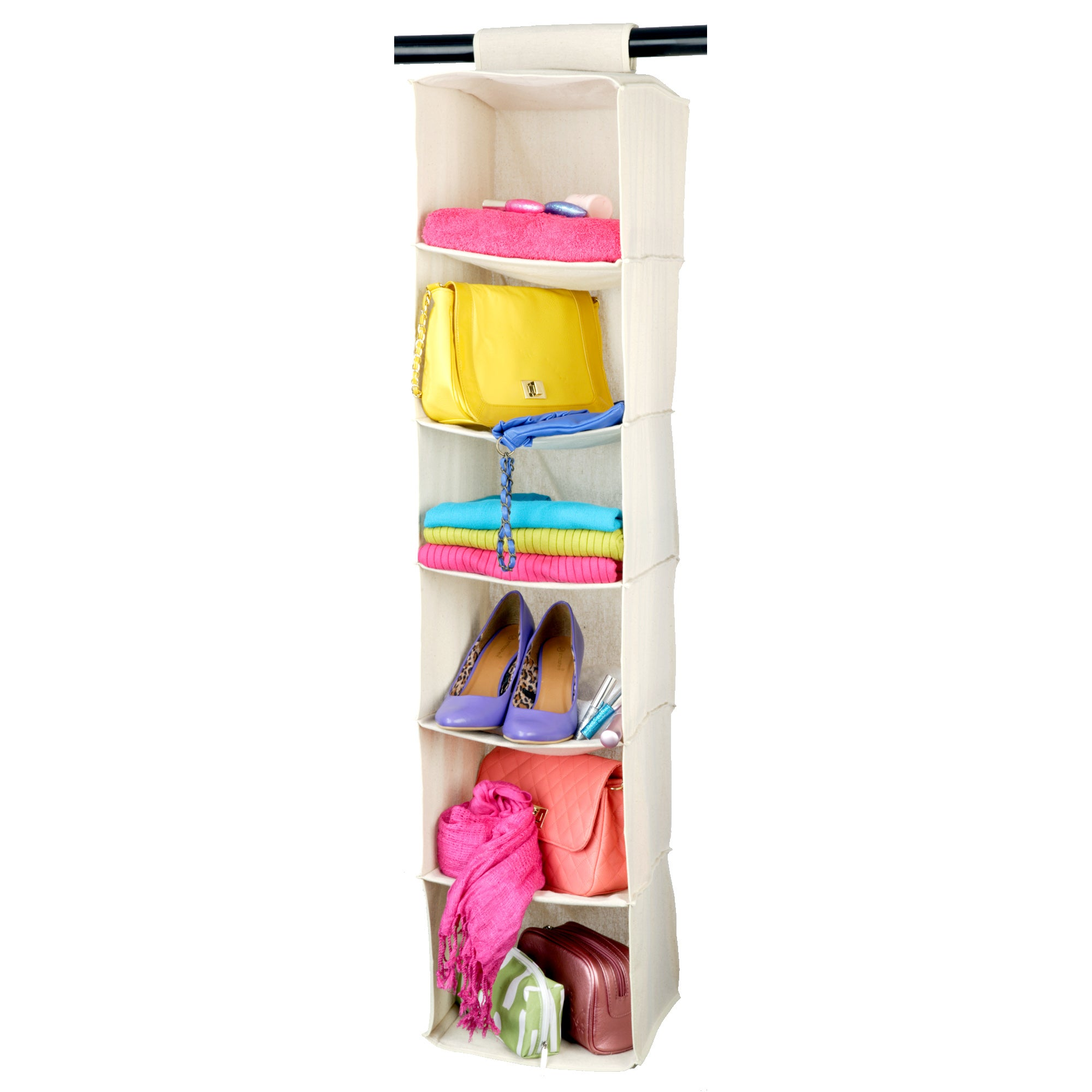 100% Cotton Collection Hanging Sweater Organiser