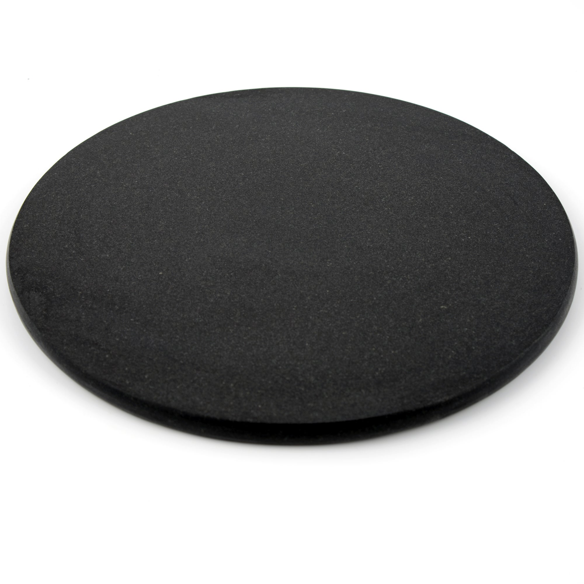 Black Granite Round Work Surface Protector