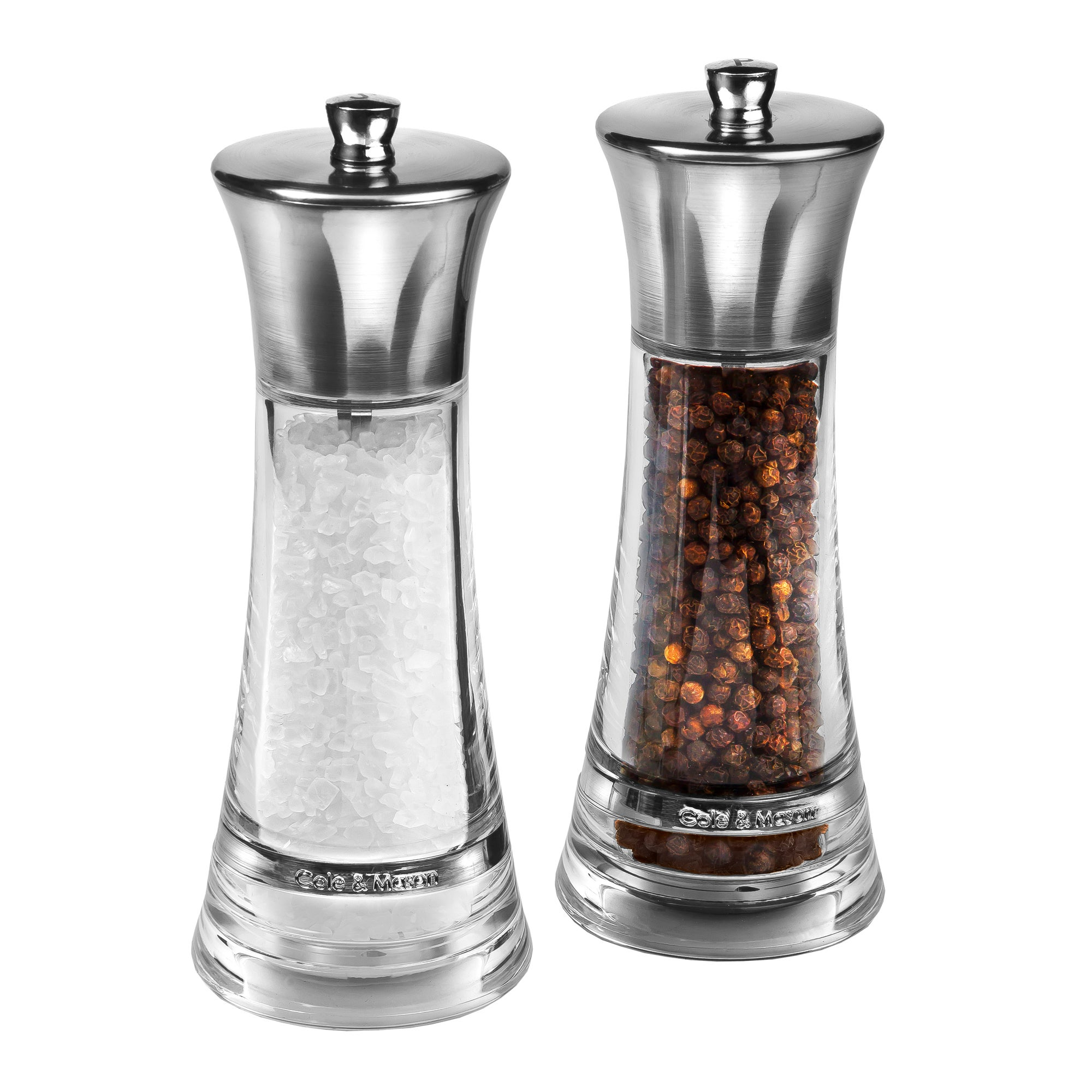 Cole & Mason Monaco Salt and Pepper Mill Gift Set