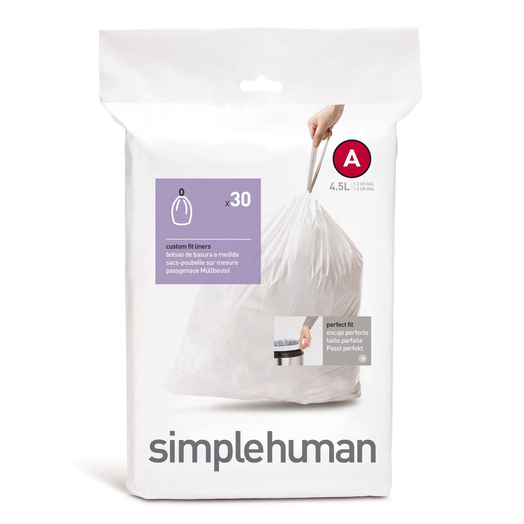 simplehuman 4.5 Litre Bin Liners