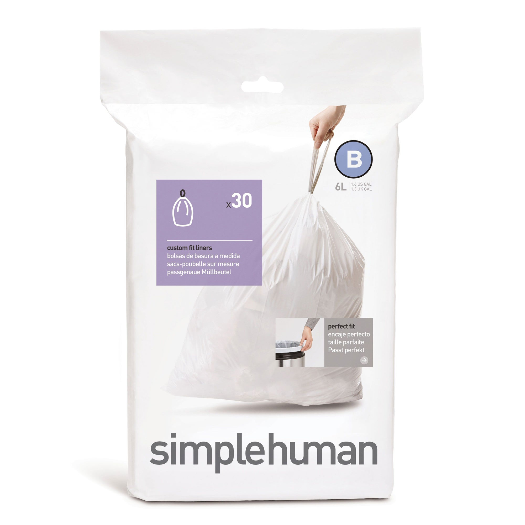 simplehuman 6 Litre Bin Liners