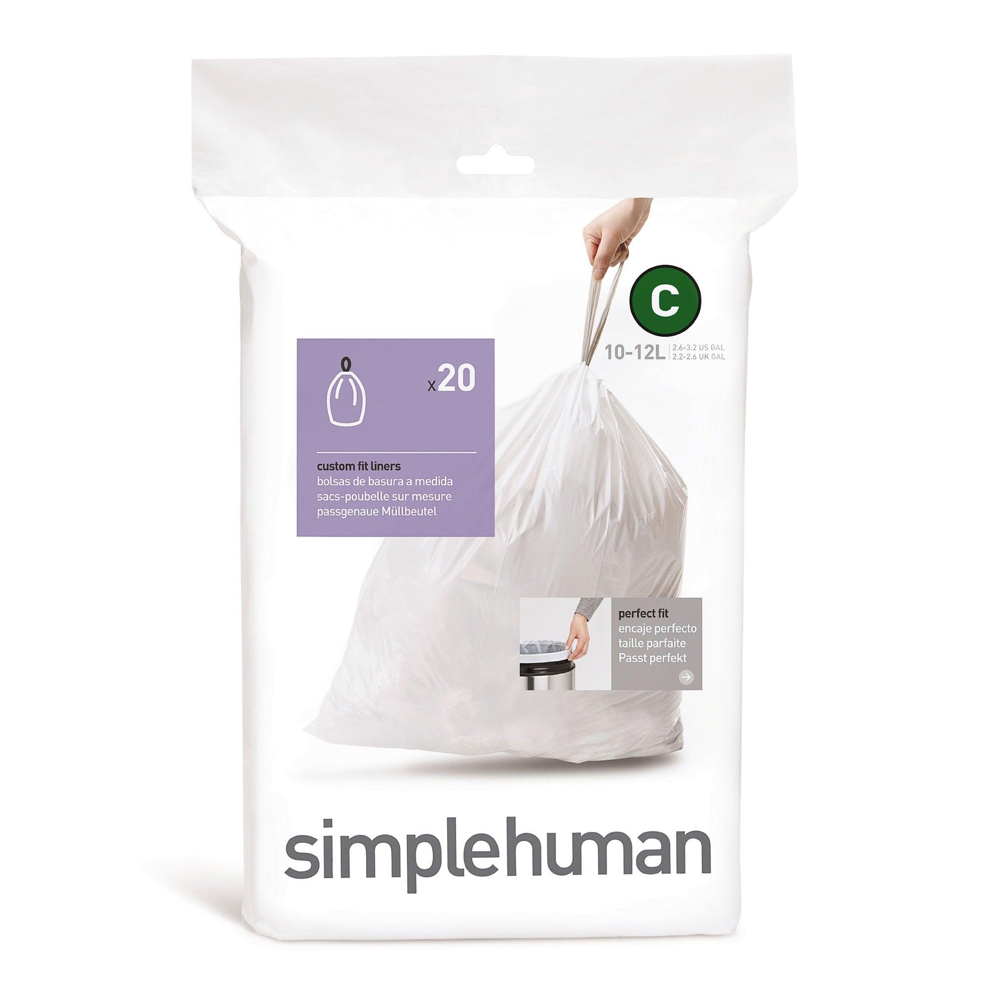 simplehuman 10 - 12 Litre Bin Liners