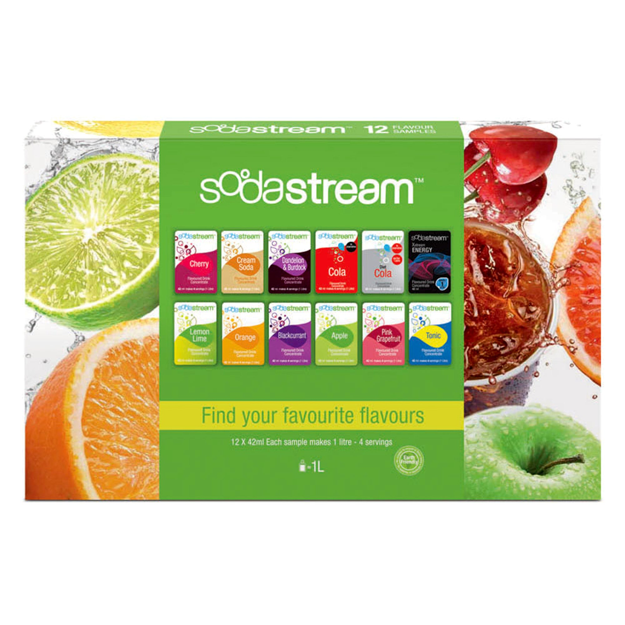 SodaStream Taste Sampler Pack