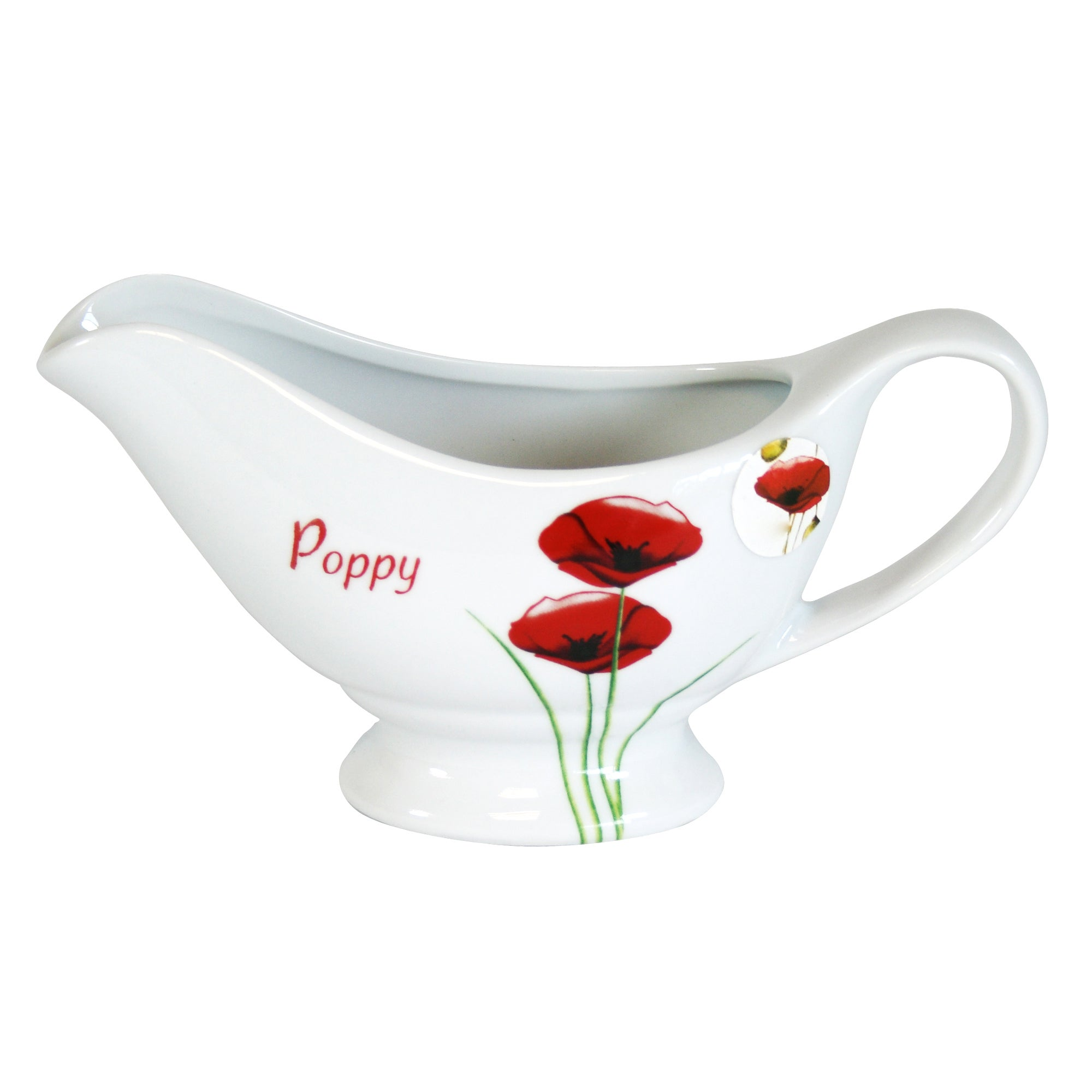 Poppy Collection Gravy Boat