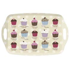 Cupcakes Collection Handled Tray