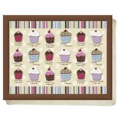 Cupcakes Collection Lap Tray