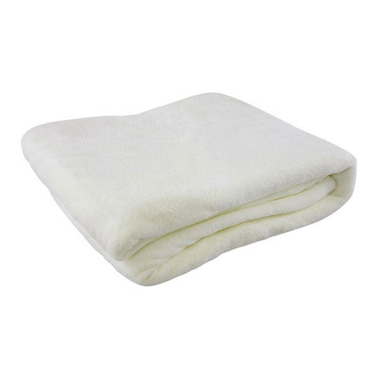 Thermosoft Cream Plain Blanket