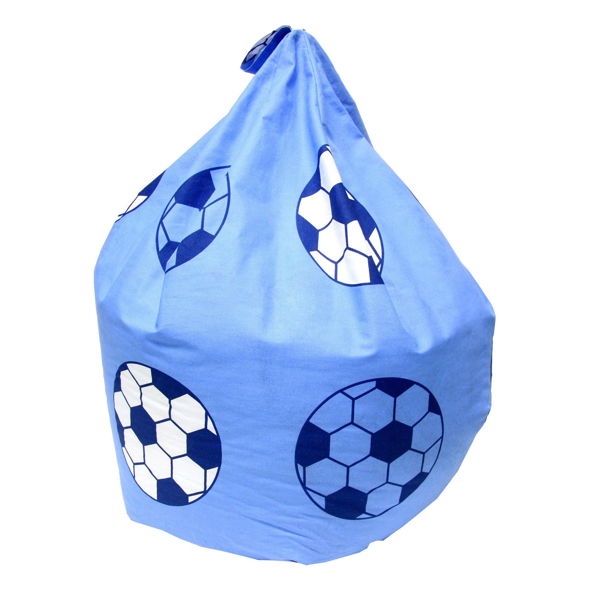 Kids Football Bean Bag Dunelm