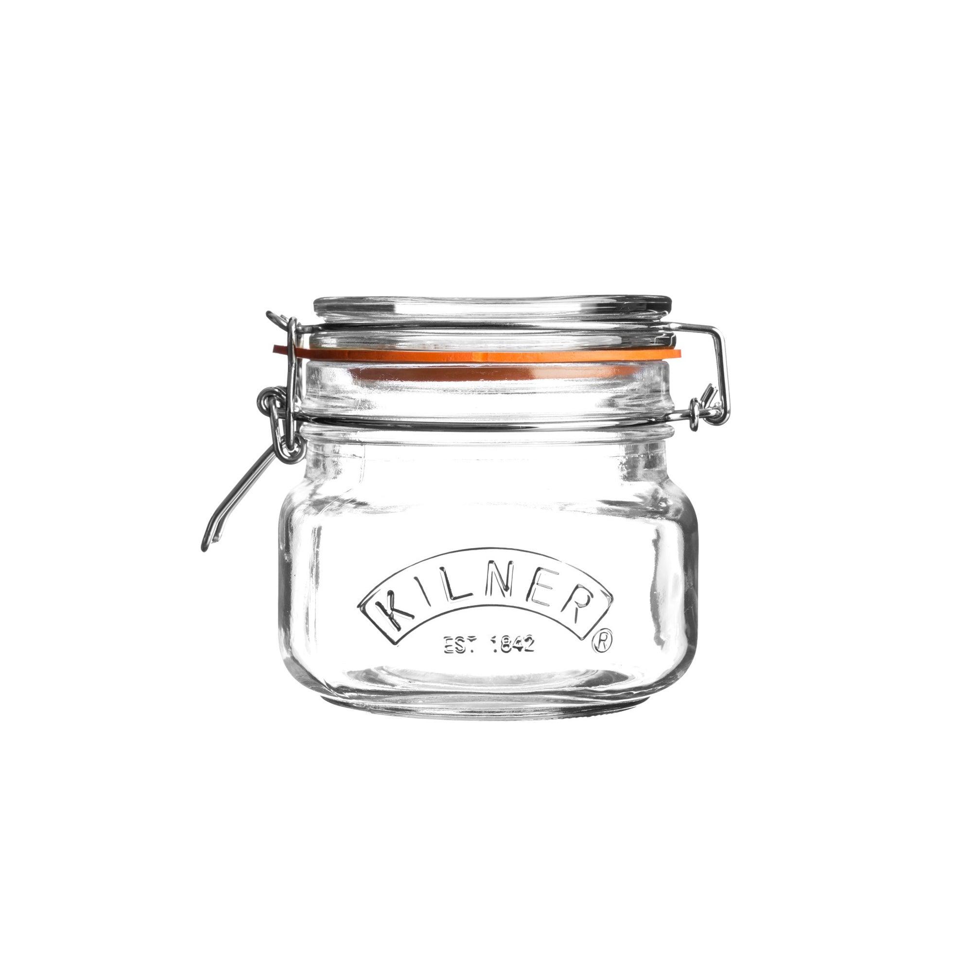 Kilner 0.5 Litres Clip Top Glass Jar