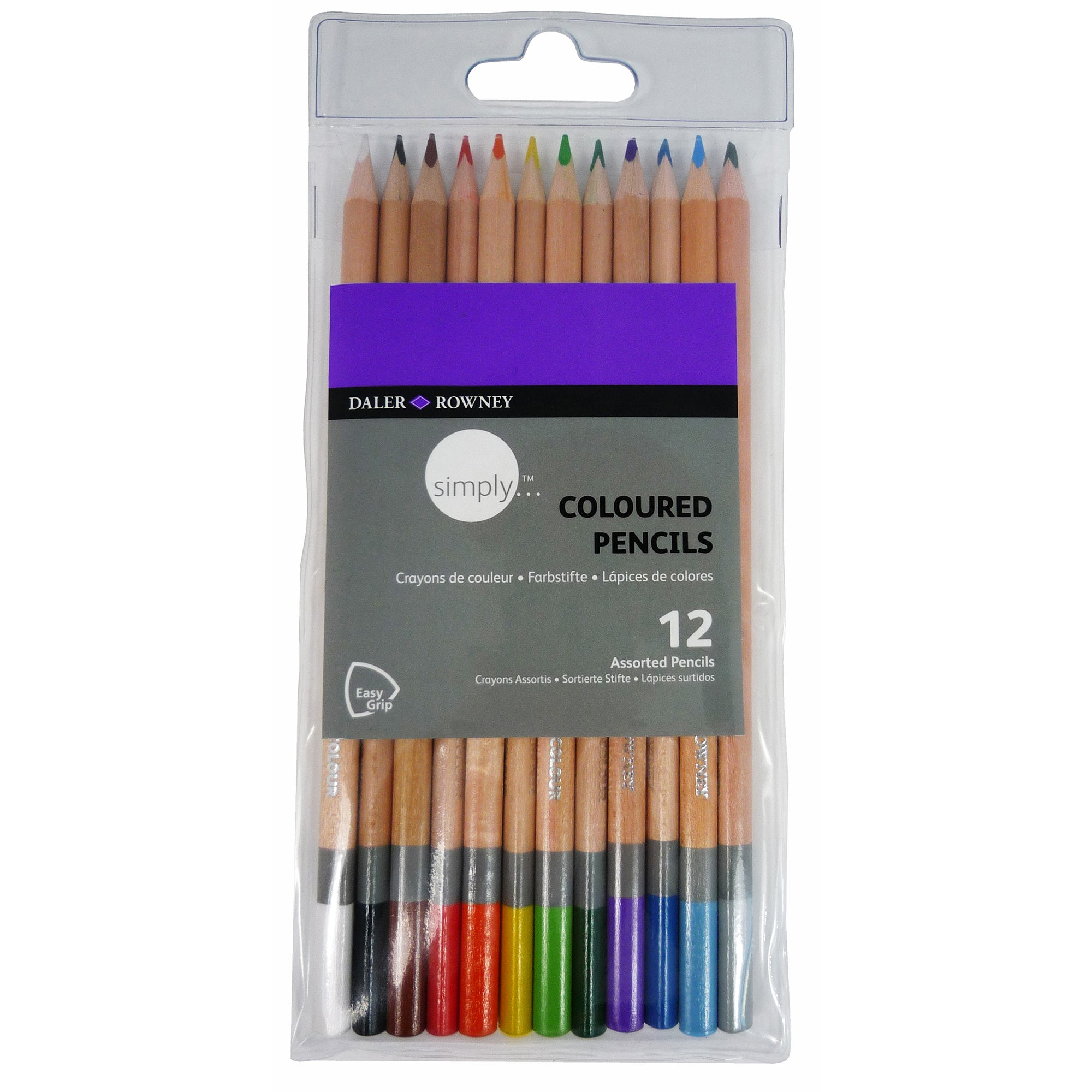 Daler Rowney Simply Coloured Pencils