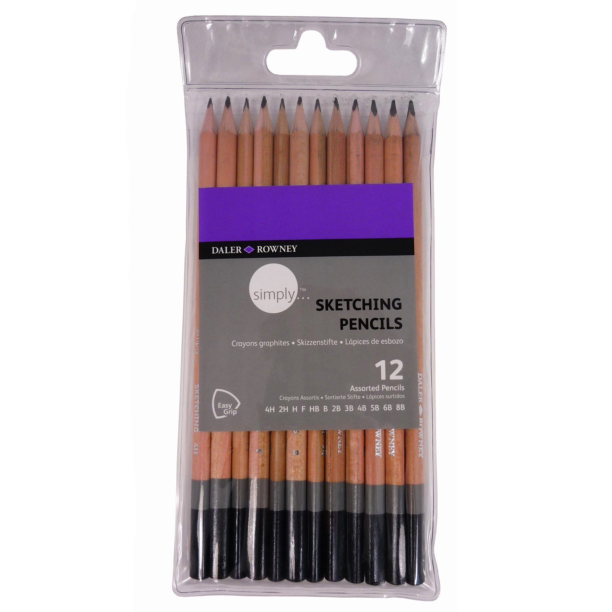 Daler Rowney Simply Sketching Pencils