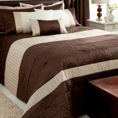 Chocolate Athens Collection Bedspread