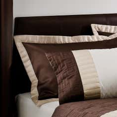 Chocolate Athens Collection Oxford Pillowcase