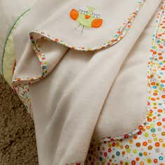 Sleepy Owl Collection Fleece Throw