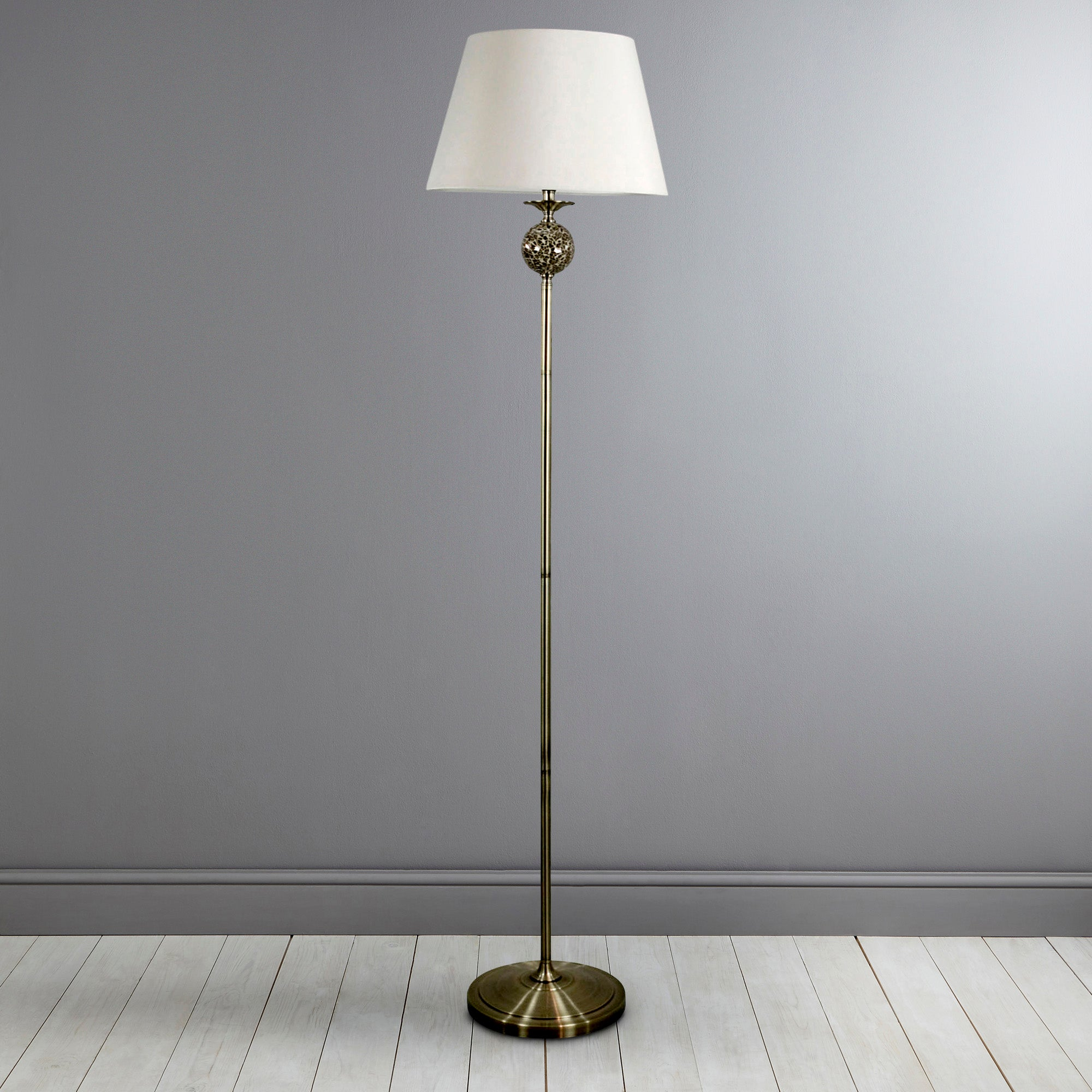 Classic Collection Mosaic Floor Lamp