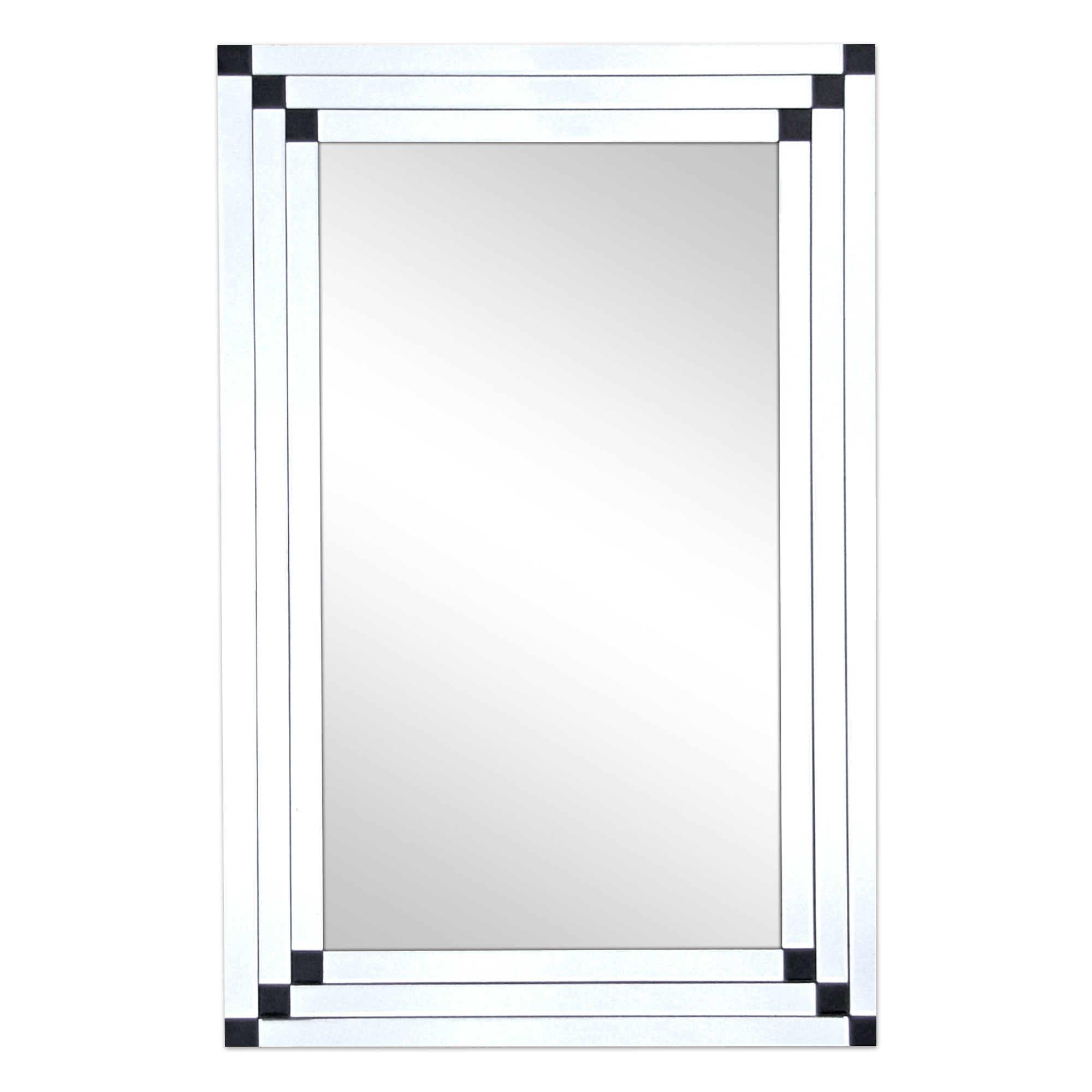 8 Bar Bevelled Mirror