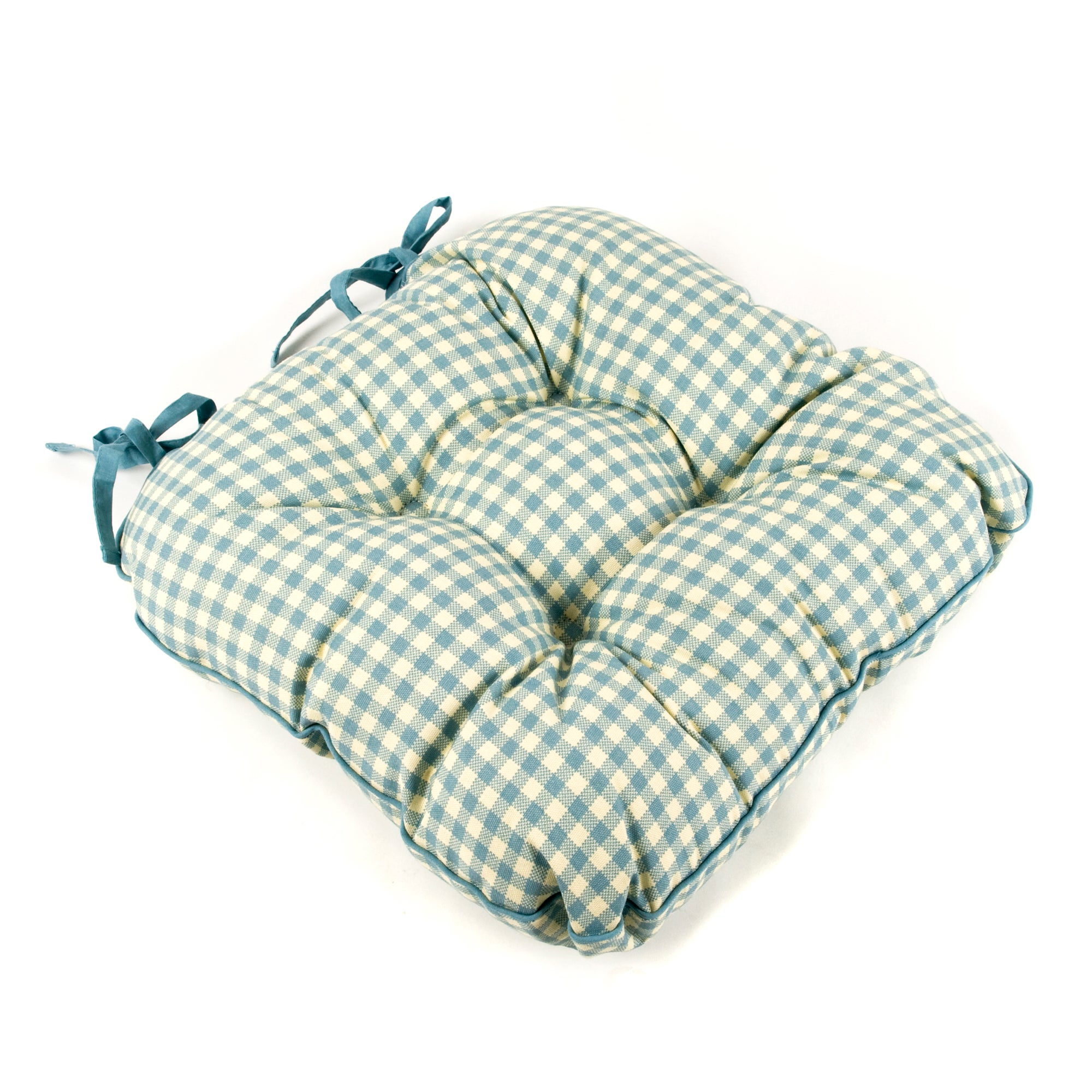 Gingham Collection Check Seat Pad