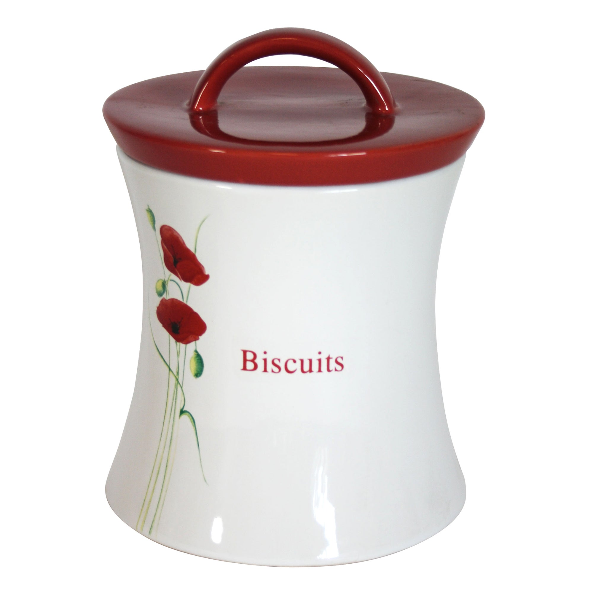 Poppy Collection Biscuit Storage Jar