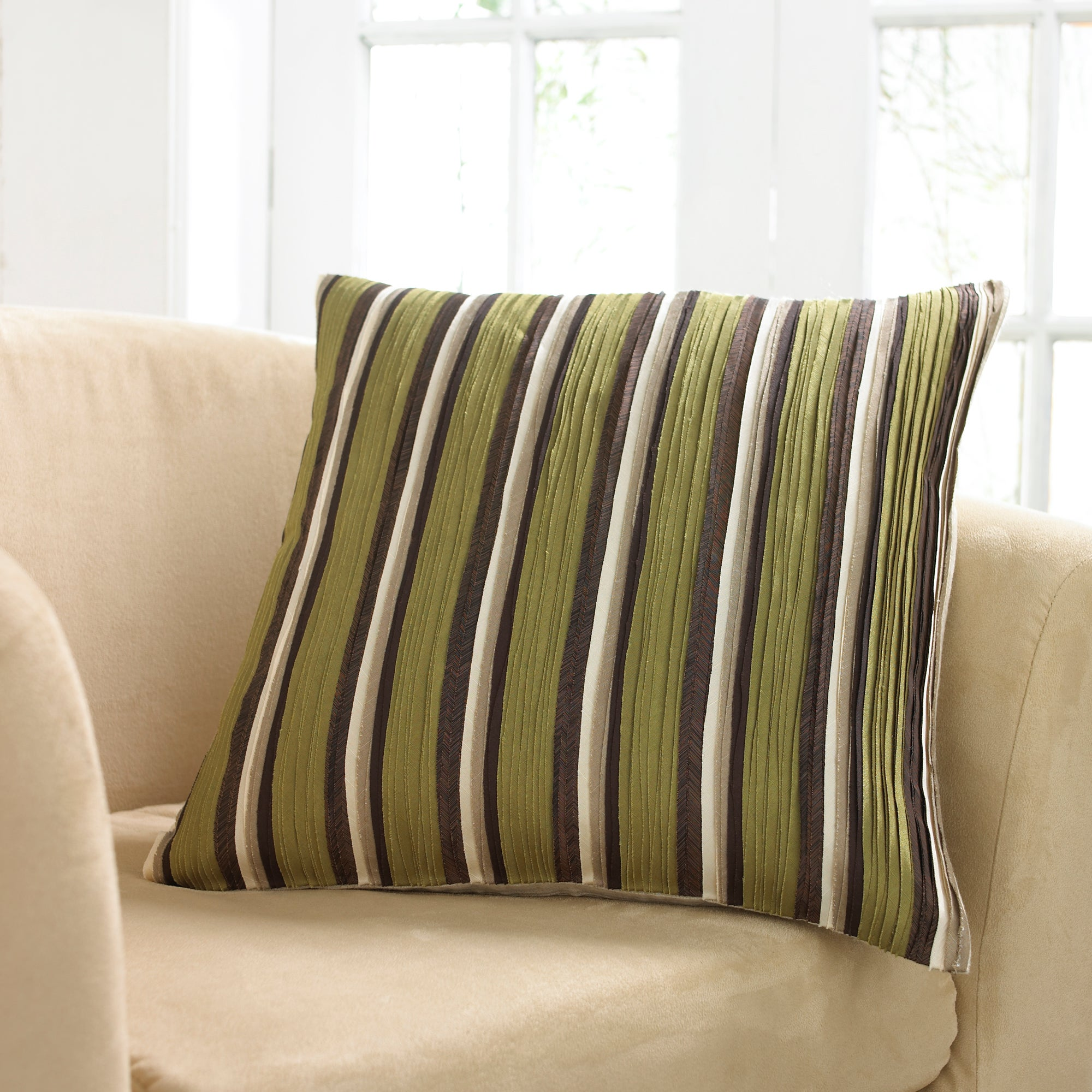 Chloe Striped Cushion