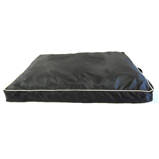 Harley Waterproof Black Pet Bed