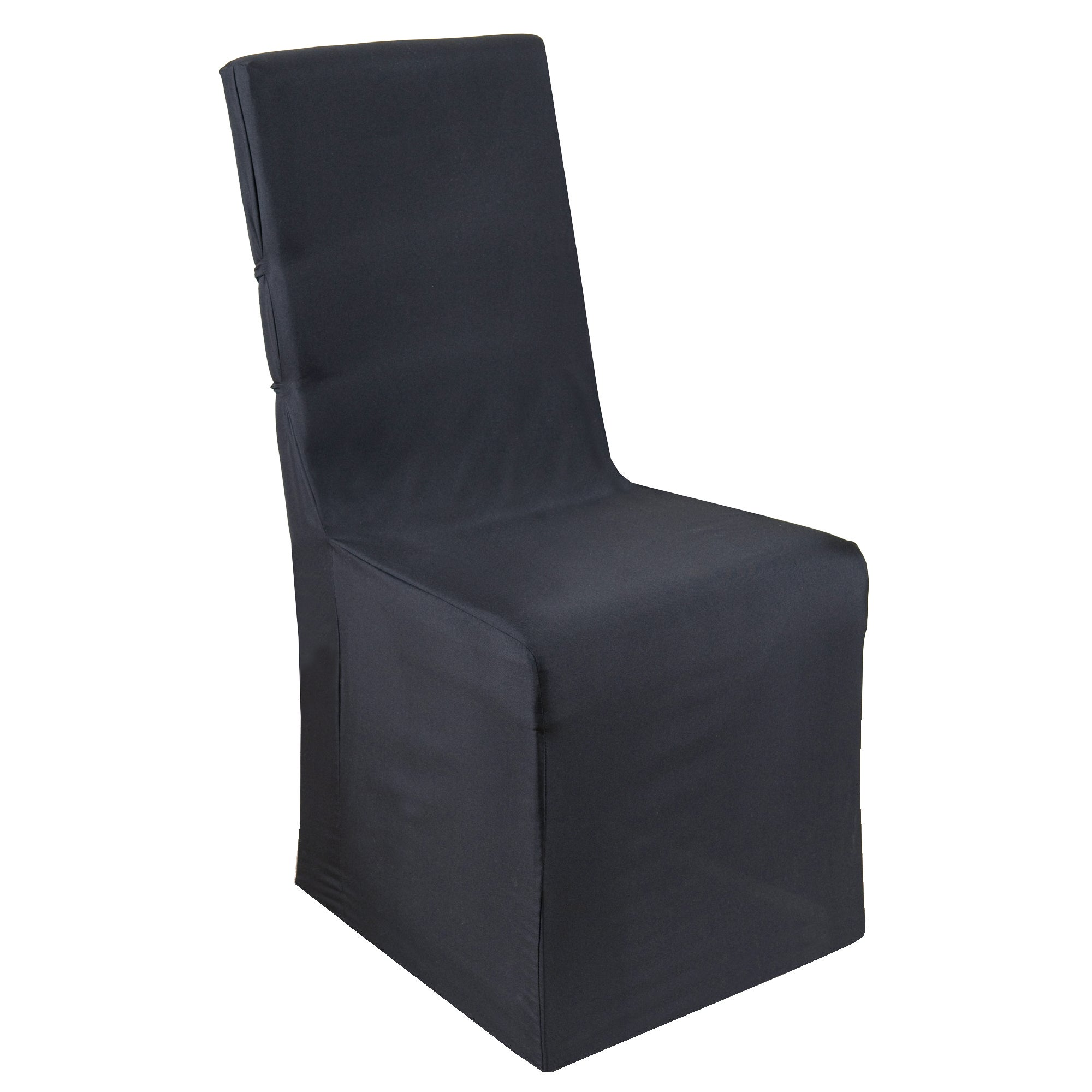 Pack of 2 Black Chair Covers