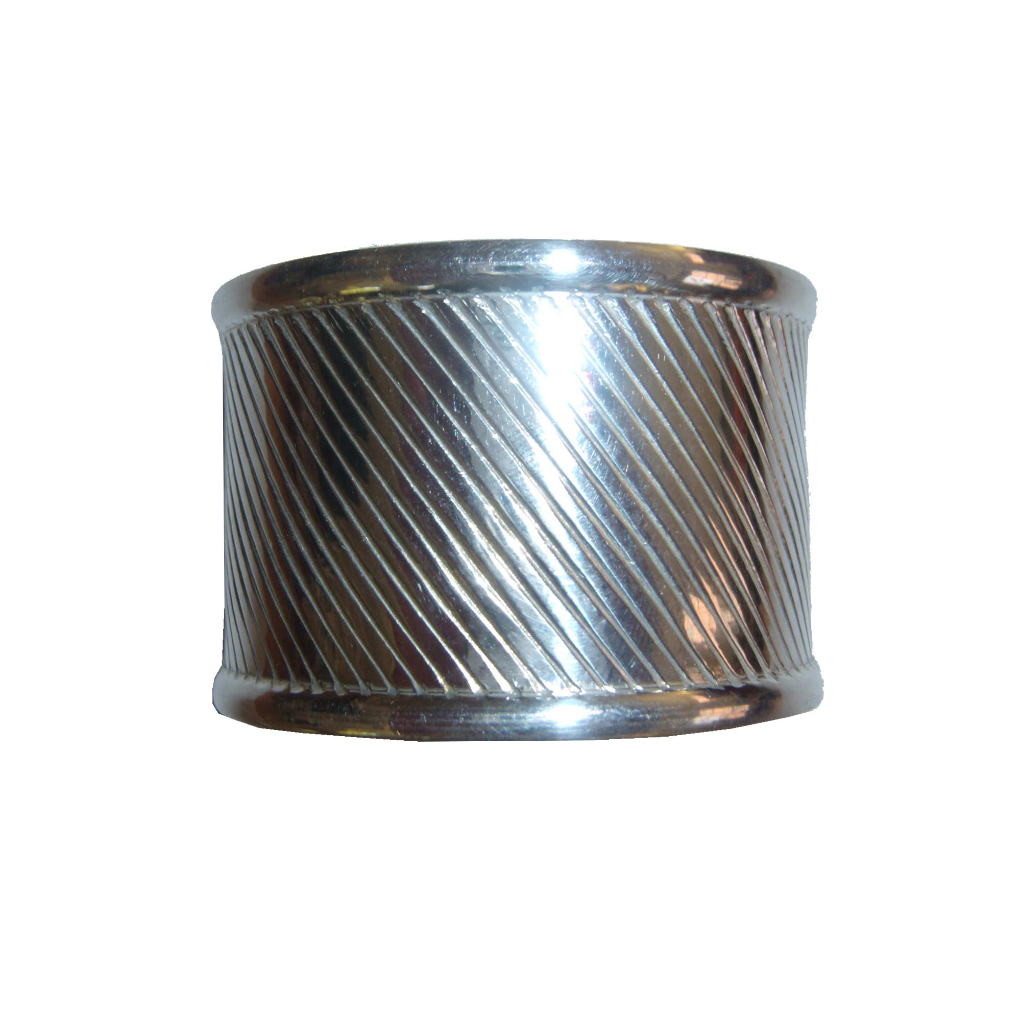 Silver Band Napkin Ring